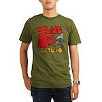 GoatLand Organic Men's T-Shirt (dark)
