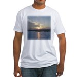 Winter Sunrise 0002 Fitted T-Shirt