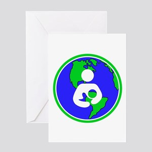 IBFS Earth Mother #2 Greeting Card