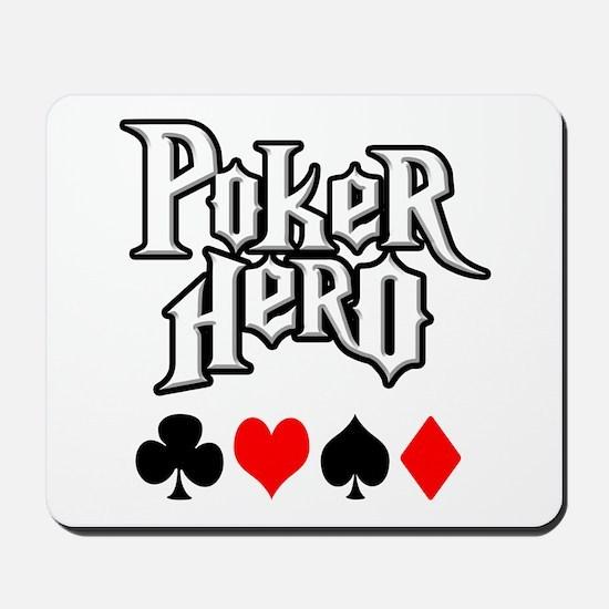 Poker Hero Mousepad