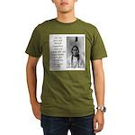 Sitting Bull Quote Organic Men's T-Shirt (dark)