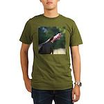 Gobbling Gobbler Organic Men's T-Shirt (dark)