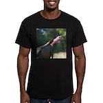 Gobbling Gobbler Men's Fitted T-Shirt (dark)