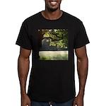 Sunny Oak Men's Fitted T-Shirt (dark)