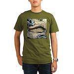 Calif. Slender Salamander Organic Men's T-Shirt (d