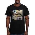 Calif. Slender Salamander Men's Fitted T-Shirt (da