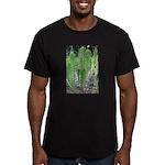 Horsetail Equisetum Men's Fitted T-Shirt (dark)