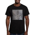 Real Turkey Track Men's Fitted T-Shirt (dark)