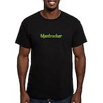 Mantracker 3 Men's Fitted T-Shirt (dark)