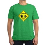 Cougar Mountain Lion Crossing Men's Fitted T-Shirt