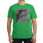 Real Bear Track Men's Fitted T-Shirt (dark)