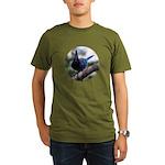 Steller's Jay Hollering Organic Men's T-Shirt (dar