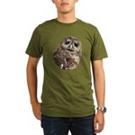 Northern Spotted Owl Organic Men's T-Shirt (dark)
