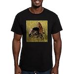 Big Tom Turkey Men's Fitted T-Shirt (dark)