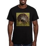 Turkey Fan Men's Fitted T-Shirt (dark)