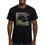 Big Gobbler Men's Fitted T-Shirt (dark)