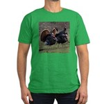 Four Gobblers Men's Fitted T-Shirt (dark)