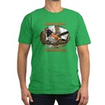 Spotted Towhee Men's Fitted T-Shirt (dark)