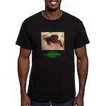 Rough Skinned Newt Salamander Men's Fitted T-Shirt