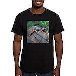 Ensatina Salamander Men's Fitted T-Shirt (dark)