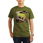 Pacific Treefrog Organic Men's T-Shirt (dark)