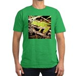 Pacific Treefrog Men's Fitted T-Shirt (dark)