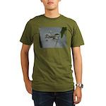 Water Strider Organic Men's T-Shirt (dark)