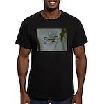 Water Strider Men's Fitted T-Shirt (dark)