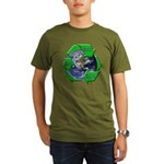 Reduce Reuse Recycle Earth Organic Men's T-Shirt (