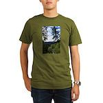 Eel River from the cliff Organic Men's T-Shirt (da