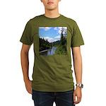 Scenic Eel River Organic Men's T-Shirt (dark)