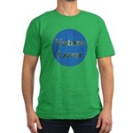 Nature Lover Sky Background Men's Fitted T-Shirt (