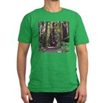 Redwood Trail Men's Fitted T-Shirt (dark)