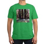 The Redwood Highway Men's Fitted T-Shirt (dark)