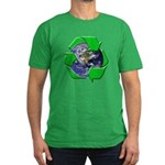 Earth Day Recycle Men's Fitted T-Shirt (dark)