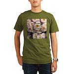 Walt Whitman Nature Quote Organic Men's T-Shirt (d