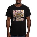 Walt Whitman Nature Quote Men's Fitted T-Shirt (da