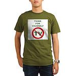 Think For Yourself Organic Men's T-Shirt (dark)