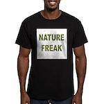 Nature Freak Men's Fitted T-Shirt (dark)