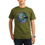 Think Green Double Sided Organic Men's T-Shirt (da