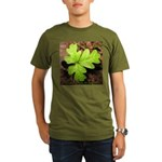 Poison Oak Organic Men's T-Shirt (dark)