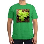 Poison Oak Men's Fitted T-Shirt (dark)