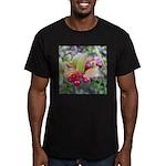 Huckleberries Men's Fitted T-Shirt (dark)