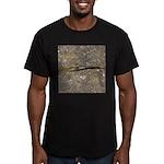 Banana Slug Men's Fitted T-Shirt (dark)
