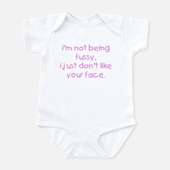 Fussy Baby Girl Infant Bodysuit