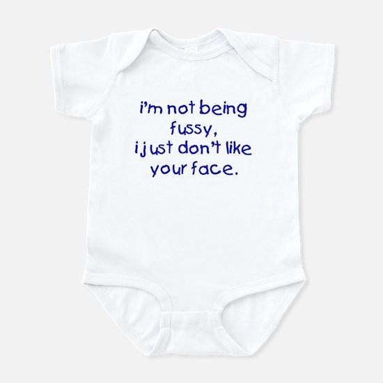 Fussy Baby Boy Infant Bodysuit
