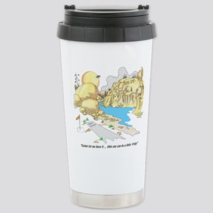 GOOD LUCK Stainless Steel Travel Mug