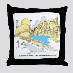 GOOD LUCK Throw Pillow