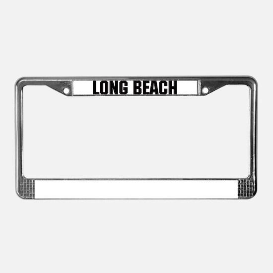 Long Beach, California License Plate Frame
