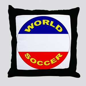 Serbia and Montenegro Throw Pillow